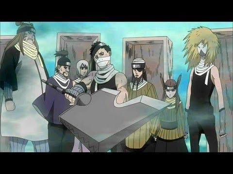 naruto shippuden 266 anime review quotthe seven swordsmen