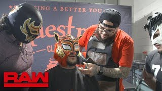 Lince Dorado needs a shave: Raw Exclusive, May 21, 2018