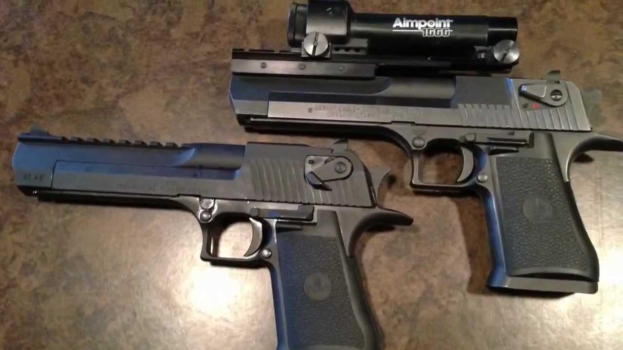 50 cal Desert Eagle & .357 Magnum Desert Eagle - YouTube