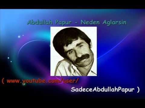 Abdullah Papur - Neden Ağlarsın
