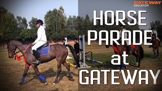 Horse Parade | Students At College | Horse Riding | Gateway Education