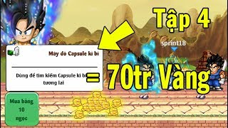 Ngọc Rồng Online - Đi Sc1 Kiếm Được 70tr Vàng