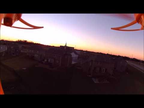 Syma X8C Sunset wtih GeekPro 2.0