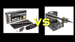 Vidpro XM88 vs Rode NTG2 Microphone Comparison