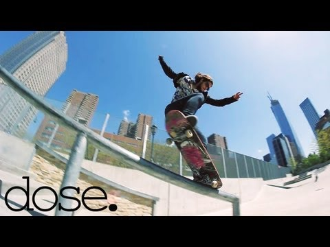 Arnette Skate Team Shreds NYC