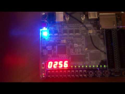 FPGAボードのDE0で疑似乱数の発生