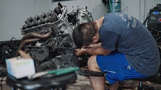 Tearing down Satan's 1,000hp Coyote Engine!