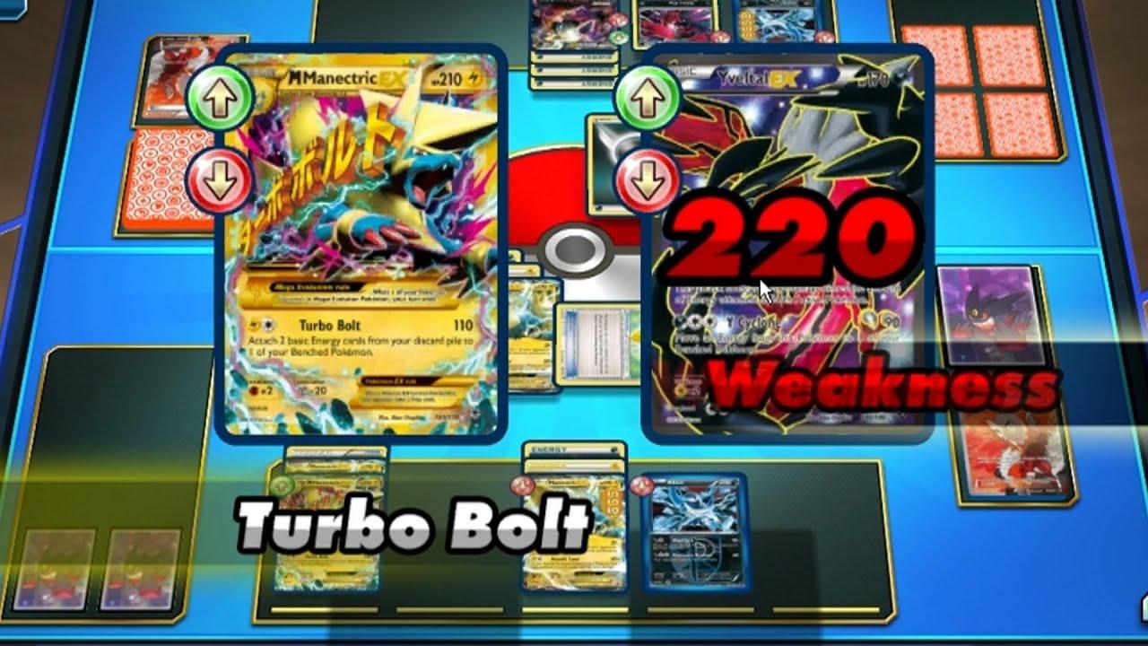 mega manectric pokemon trading card game online lets