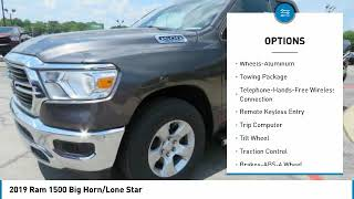2019 Ram 1500 For more information on New  2019  Ram  1500  Big Horn/Lone Star  for sale in the Nash