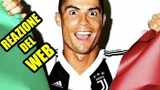 CRISTIANO RONALDO ALLA JUVENTUS !! UFFICIALE: la reazione dei tifosi del web