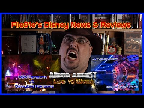 File91e's Disney News & Reviews (Fantasmic vs. Fantasmic & Space Mountain vs. Space Mountain)