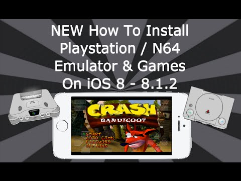 NEW Install Playstation & N64 With Games On iOS 8 - 8.1.2 iPhone. iPad. iPod Touch