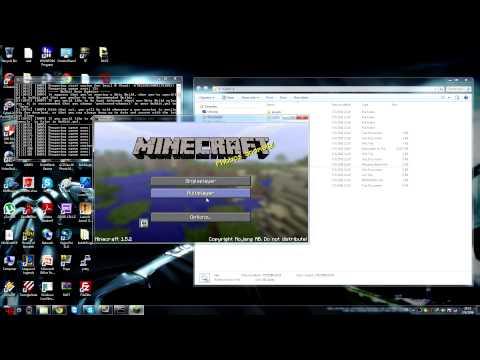 วิธีเปิด เซิฟ minecraft 1.5.2 Bukkit
