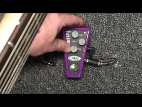 ModTone Mini-Mod Fuzzer (MTM-FZ) Effects Pedal Demo