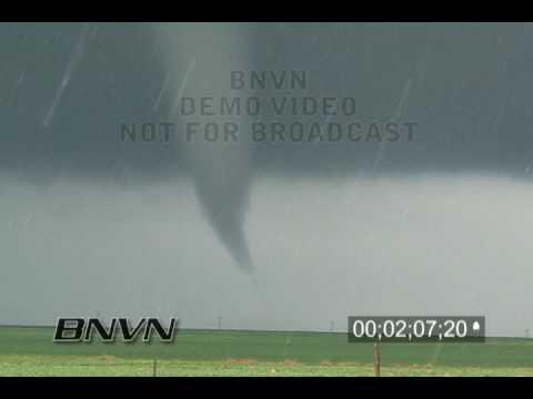 4/10/2005 Tornado Video, Trego County, Kansas part 2