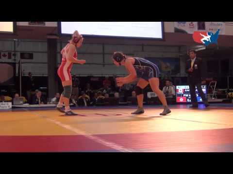 2012 Women's World Champ. 67 kg Gold Medal Match: Adeline Gray (USA) pin Dorothy Yates (CAN),