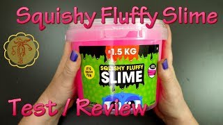 Slime-Review/Test: 1,5 kg Squishy Fluffy Slime von Aktrade