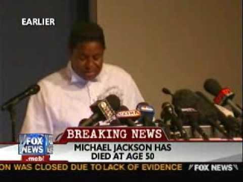 Jermaine Jackson Issues Statement on Michael Jackson's Death
