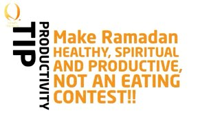 Ramadan   NOT An Eating Contest! ᴴᴰ - Ramadan Reminder