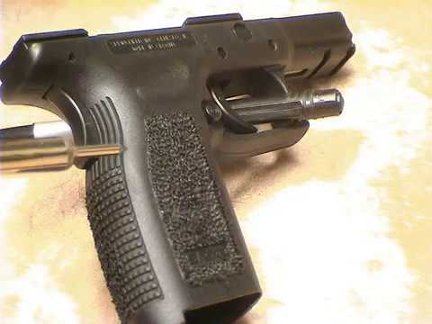 Tacticaladv.com do it yourself grip reduction/stippling springfield armory XD 45