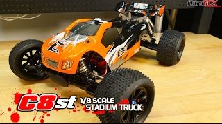 Team Energy C8ST 1/8 Scale RC Truggy Overview