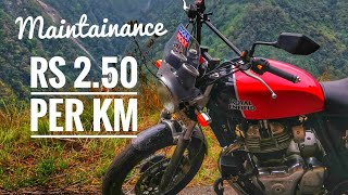 Rs.50,000 Expenses on RE Interceptor 650 at 20K kms