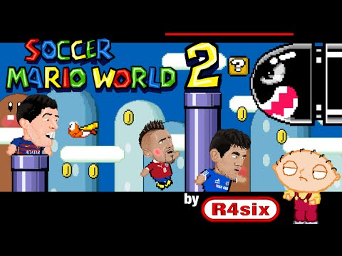 Soccer Mario World 2 Cartoon Parody