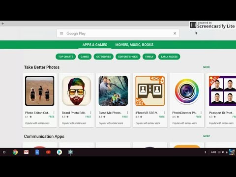 How to Enable/Install Google Play on Google Chrome OS