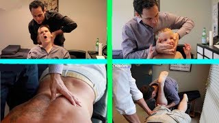 Dr. Ian's AMAZING TRANSFORMATIONS   Chiropractic Compilation