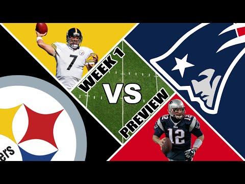 Steelers @ Patriots Week 1 NFL Preview (2015)