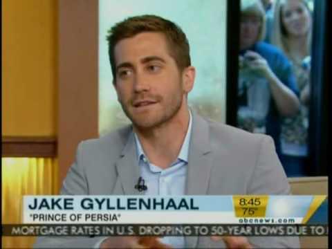 Jake Gyllenhaal on Good Morning America (5.24.10)