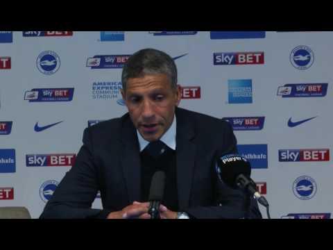 Chris Hughton believes Brighton will strengthen in the summer