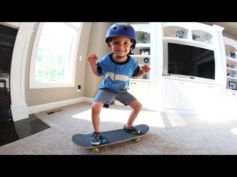 Don't Skateboard In The House!