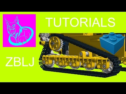 TUTORIAL: Adding tracks to a model in LDD