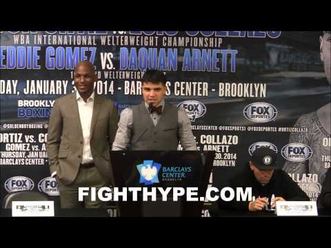 VICTOR ORTIZ TALKS LUIS COLLAZO CLASH IM BACKTHANK YOU ALL FOR COUNTING ME OUT