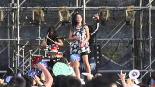 Killing Me Inside - Tormented & Young Blood (Live at Busan Rock Fest 2015. South Korea)