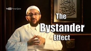 The Bystander Effect – Dr. Uthman Lateef