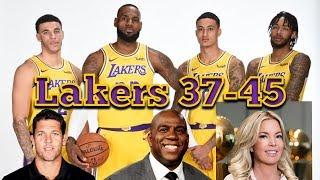 Lakers 2018-2019 Season Results | Magic Johnson Stepping Down | Coaching Change | NBA Free Agency