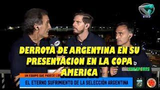 90 MINUTOS DE FÚTBOL | 15 DE JUNIO 2019 | DERROTA DE ARGENTINA EN COPA AMERICA 2019 CONTRA COLOMBIA|