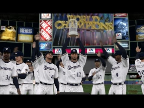 MLB 14: The Show - Milwaukee Brewers World Series Celebration