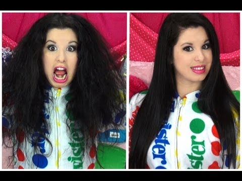 How To Get SUPER STRAIGHT HAIR!
