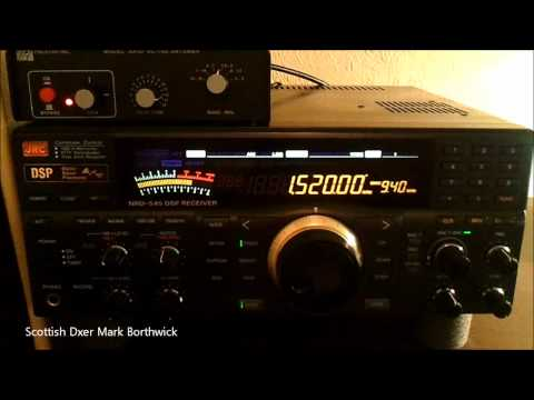 MW DX WWKB 1520khz Buffalo New York Booming into Scotland On NRD 545