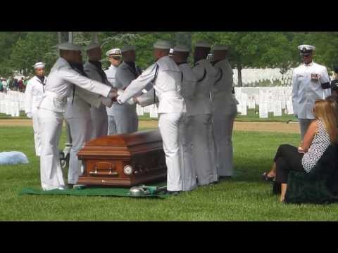 EODCS Timothy Johns Burial Service - Arlington National Cemetery