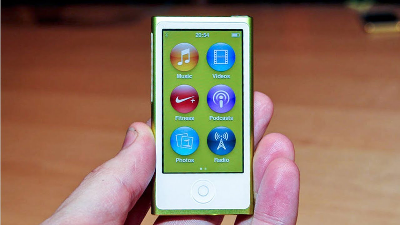 iPod Nano 7th Generation Hands-On Overview - YouTube