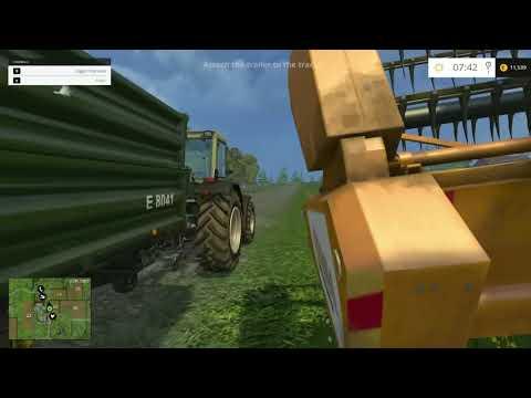 Farming Simulator 2015 tutorial PC gameplay