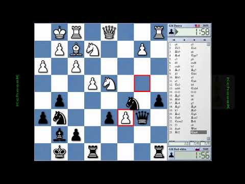Picachu vs Red-White and Danya vs Red-white Chess Blitz on Internet Chess Club (ICC)
