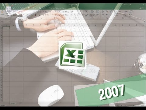 Excel使い方講座(エクセル2007)Excelの基本操作と知識【動学.tv】