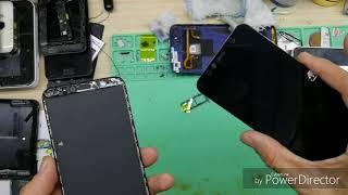 Huawei y6 prime 2018 تغيير شاشة