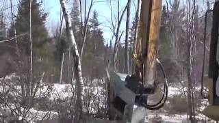Wood Destroyer - Shredder for Trees