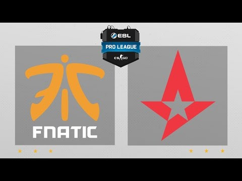 CS:GO - fnatic vs. Astralis [Inferno] Map 1 - ESL Pro League Season 5 - EU Matchday 26